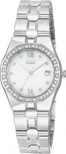 Citizen EW0480-50A Diamond Riva White Dial Ladies