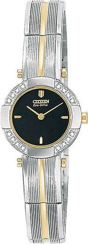 Citizen EW8374-53E Capri 16 Diamond Two Tone Ladies