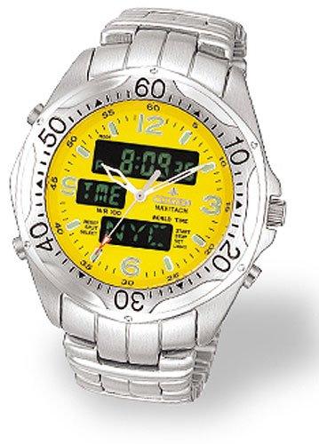 Citizen JQ8020-52Y Navitach Chronograph Chrono Men's