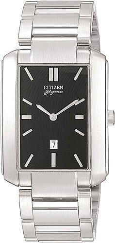 Citizen QD0200-59E Dress Date Watch Men's