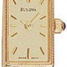 Bulova 95T23 14k Gold Ladies