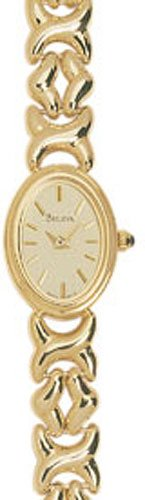 Bulova 95T31 14k Gold Ladies