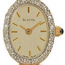 Bulova 95U03 14k Gold Ladies