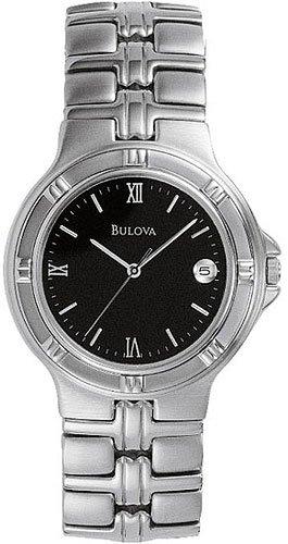 Bulova 96B05 Bracelet Black Dial Men's