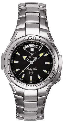 Bulova 96C14 Marine Stainless Steel Men's