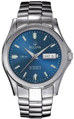 Bulova 96C23 Automatic Blue Dial Men's