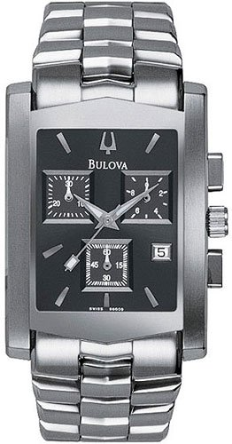 Bulova 96G09 Chronograph Stainless Men's
