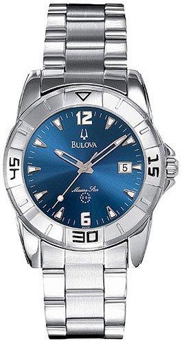 Bulova 96G30 Blue Dial Marine Star Men's