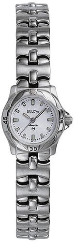 Bulova 96L44 Marine Star White Dial Ladies