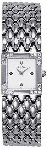 Bulova 96R03 Diamond Bezel Ladies