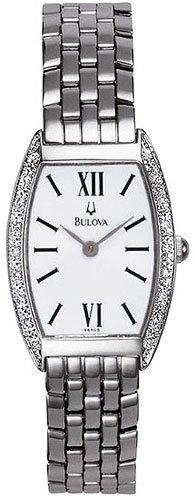 Bulova 96R05 Diamond Bezel Ladies