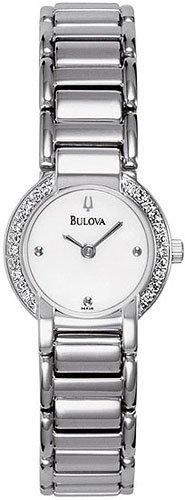Bulova 96R08 12 Diamonds Ladies
