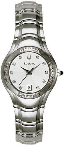 Bulova 96R10 Maestro Diamond Mother of Pearl Bracelet Ladies