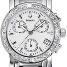 Bulova 96R19 Diamond Chronograph Ladies