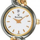 Bulova 98P35 Diamond Dial Two Tone Ladies