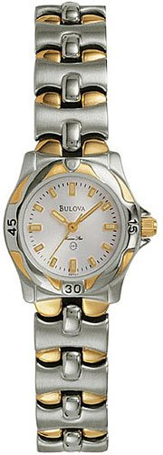 Bulova 98T37 Two Tone Ladies
