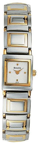Bulova 98T53 Stainless Steel tone Ladies