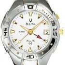 Bulova 98U32 Alarm Marine Star Two Tone Ladies