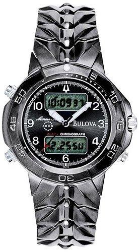 Bulova 98C59 Digital Marine Star Black Men's