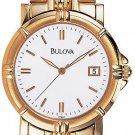 Bulova 97B47 Gold Tone Bracelet Men's