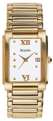 Bulova 97B48 Gold Tone Men's
