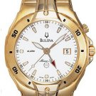 Bulova 97B50 Marine Star Gold Tone Men's