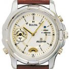 Bulova 98A49 Vibra Strap Watch Men's