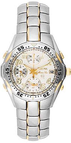 Bulova 98G82 Chronograph Alarm Stainless Steel Men's