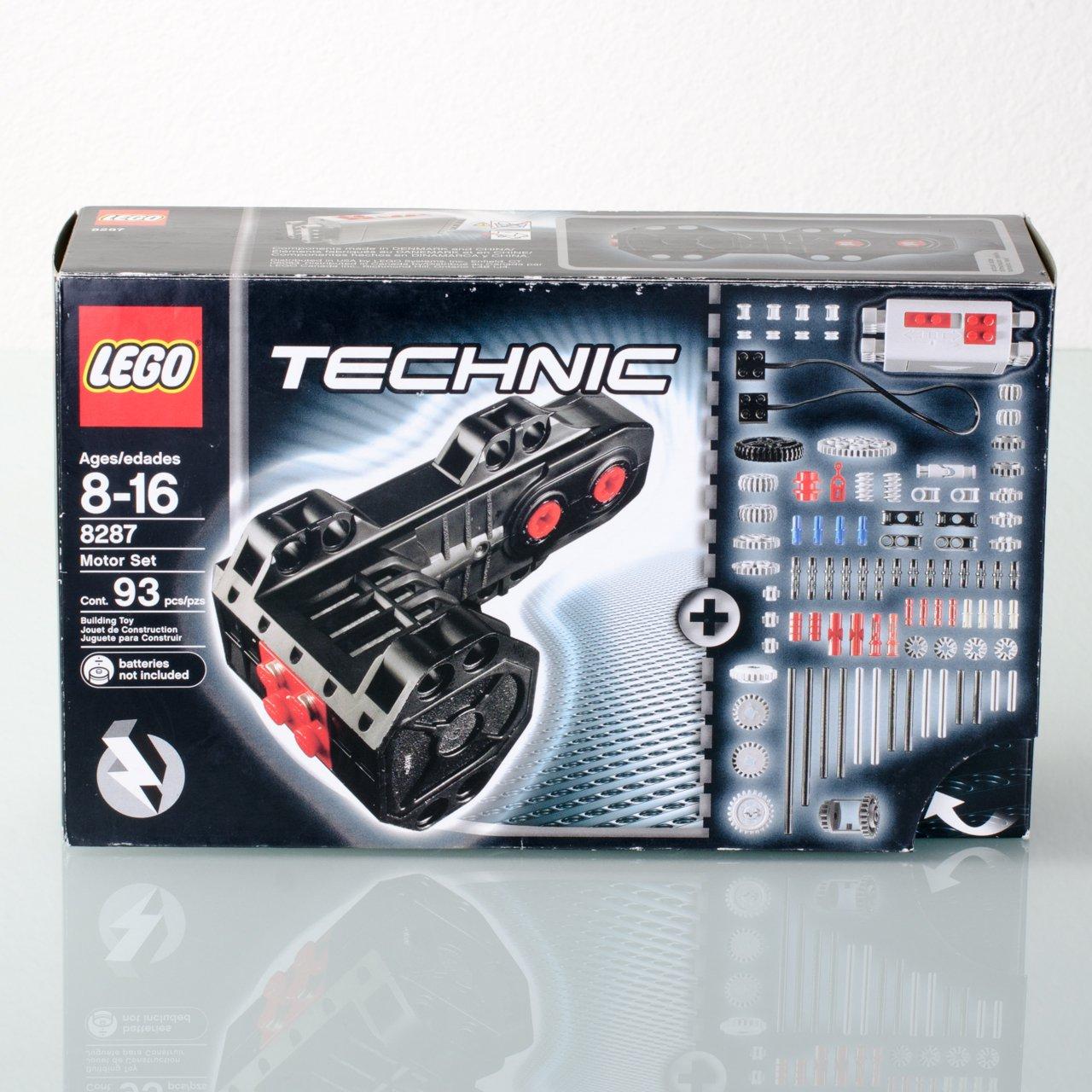 lego technic 8287 motor. Black Bedroom Furniture Sets. Home Design Ideas