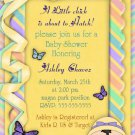 Customized Printable Easter Baby Shower Invitation 2