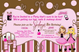 Jungle Safari Personalized Birthday Invitation - digital printable file