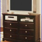 ACME Entertainment Furniture Arc 48 In Dark Cherry TV Stand Console ACME-1979