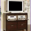 ACME Entertainment Furniture Nashville 48 inch Cherry TV Stand Console ACME-4618