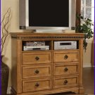 ACME Entertainment Furniture Brookshine 50 inch TV Stand Console in Light Cherry ACME-0897