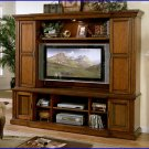 Signature Home Furnishings Highland Slider 56 Inch TV Walnut Entertainment Center SI-291-300