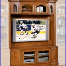 Signature Home Furnishings Bloomington 62 Inch TV Oak Entertainment Center SI-315-350-1