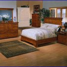 Winners Only Americana 4 Piece Bedroom Cali King Bed, Dresser, Chest, Nightstand WO-BA1061CK-4SET