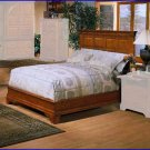 Winners Only Furniture Americana California King Cherry Panel Bed WO-BA1061CKHB