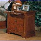 Winners Only Furniture Americana Cherry Secretary Pullout Night Stand WO-BA1065