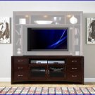 Liberty Furniture New Generation 75 Inch Merlot TV Stand Console LF-940-TV00