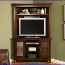 Liberty Furniture Lakewood Amaretto 45 Inch TV Corner Entertainment Center LF-481-CENT
