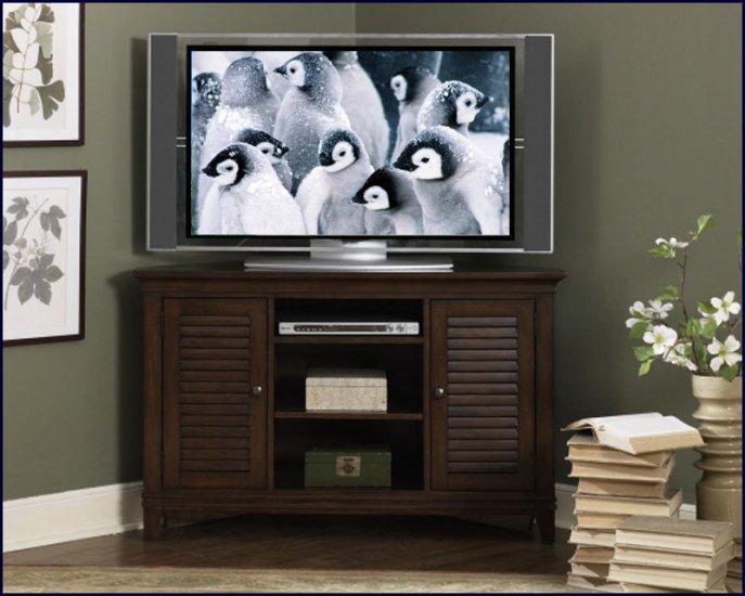 Liberty Furniture Lakewood 52 Inch Corner Amaretto TV Stand Console LF-481-TV52