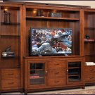 Liberty Furniture Shadow Valley 59 Inch Cherry Wood TV Entertainment Center LF-373-ENTW