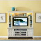 Liberty Furniture New Generation 52 Inch White Wood TV Entertainment Center LF-840-ENT
