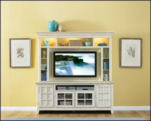 Liberty Furniture New Generation 52 Inch White Wood Tv Entertainment Center Lf 840 Ent
