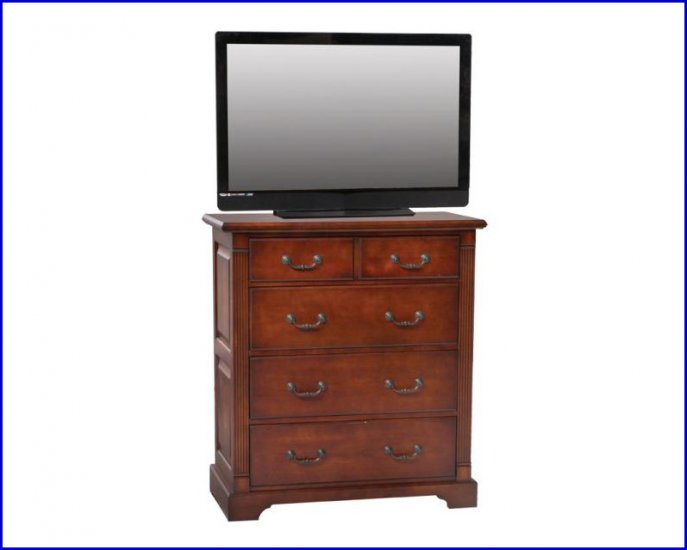 Winners Only Furniture Country Cherry Bedroom Height 38 In Tv Stand Console Chest Wo B1067tv