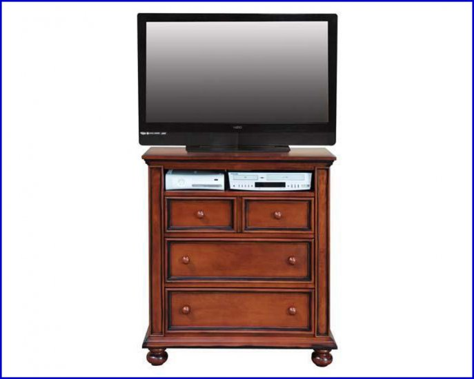 Winners Only Furniture Cape Cod Bedroom Height 38 Inch Cherry TV Stand WO-BC1007TV