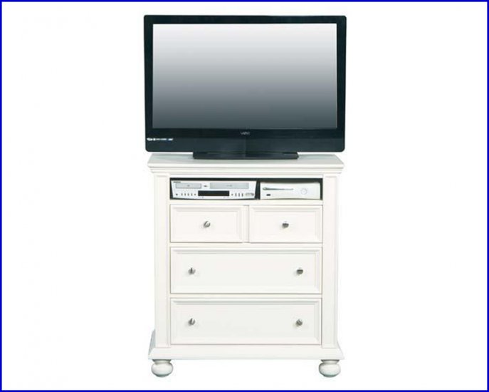 Winners Only Furniture Cape Cod White Wood 38 Inch TV Stand WO-BP1007TV