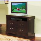 Winners Only Furniture Renaissance Espresso 42 Inch TV Console Stand Chest WO-BRX1044