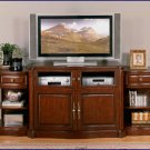 Signature Home Providence 52-96 inch Extended Antique Walnut LCD TV Stand Console SI-326-300